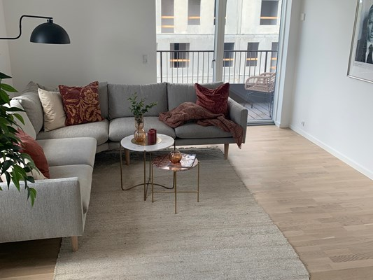 Charles Hope Copenhagen West 3 Bedroom Apartment Open Plan Lounge