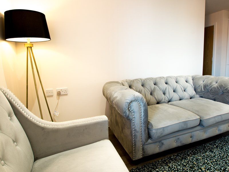 Charles Hope Southampton City Apartments 2 Bedroom Apartment Lounge Area.C 1