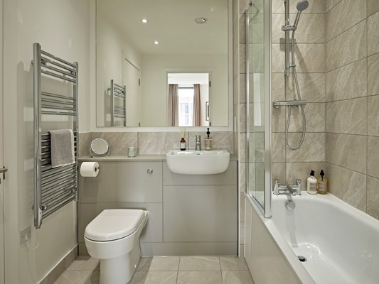 Harles Hope Media City Apartments 2 Bedroom Apartment Bathroom.A