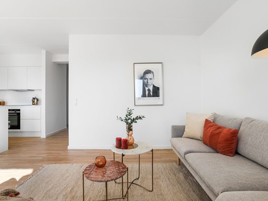 Charles Hope Copenhagen West 3 Bedroom Apartment Open Plan Lounge Kitchen