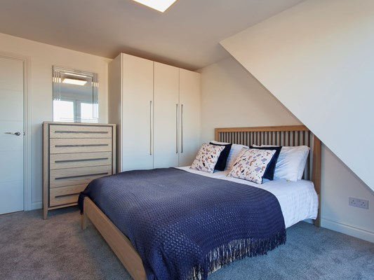 Charles Hope Heathrow South Apartments 1 Bedroom Apartment Bedroom.C