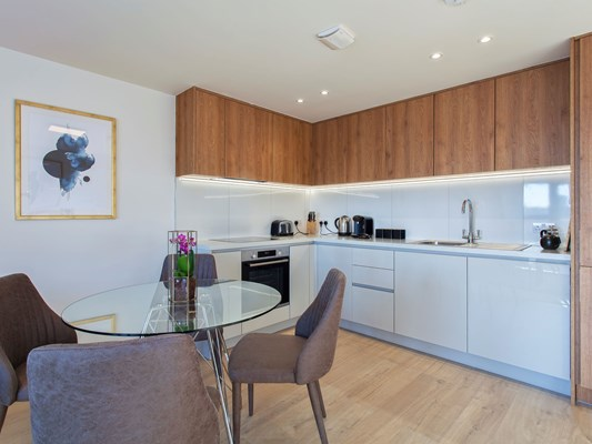 Charles Hope Heathrow South Apartments 1 Bedroom Apartment Kitchen Diner