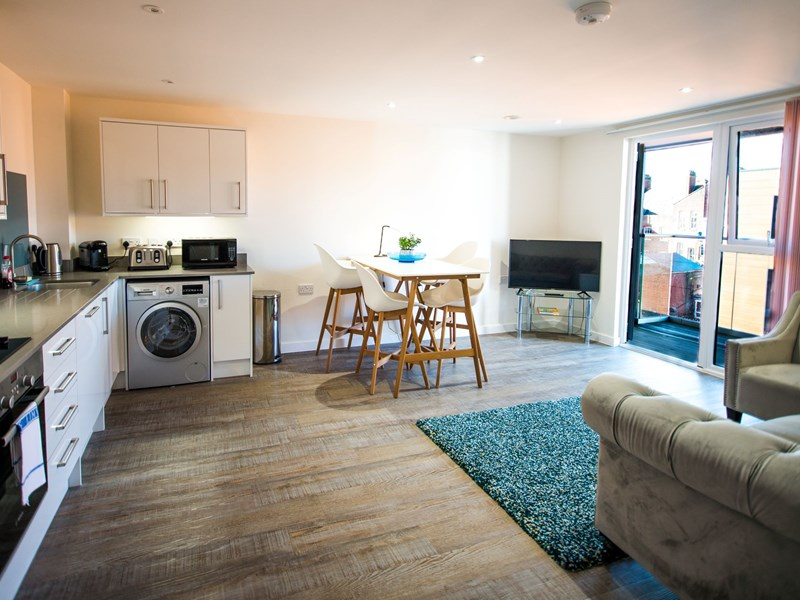 Charles Hope Southampton City Apartments 2 Bedroom Apartment Kitchen Lounge Diner